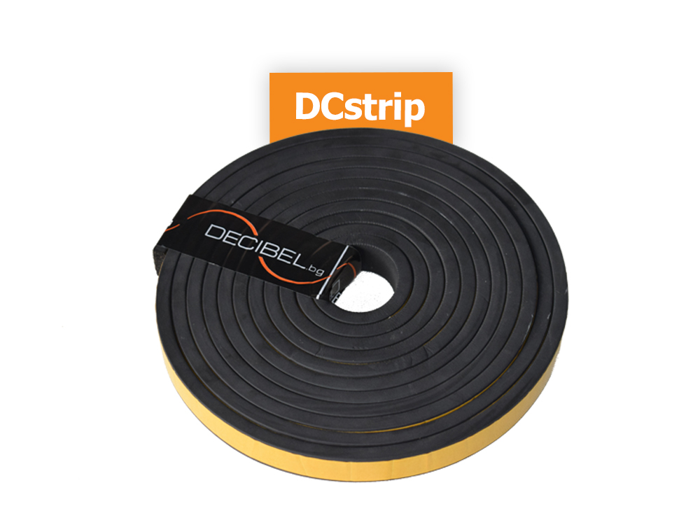 DCstrip - Isolation Rubber Strip